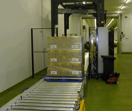 Pallet wrapping system