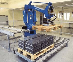 palletising system