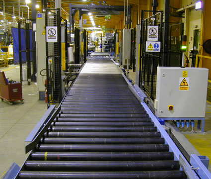 Comprehensive Conveyor System Integration