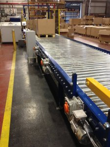 Pallet Strapping System Install
